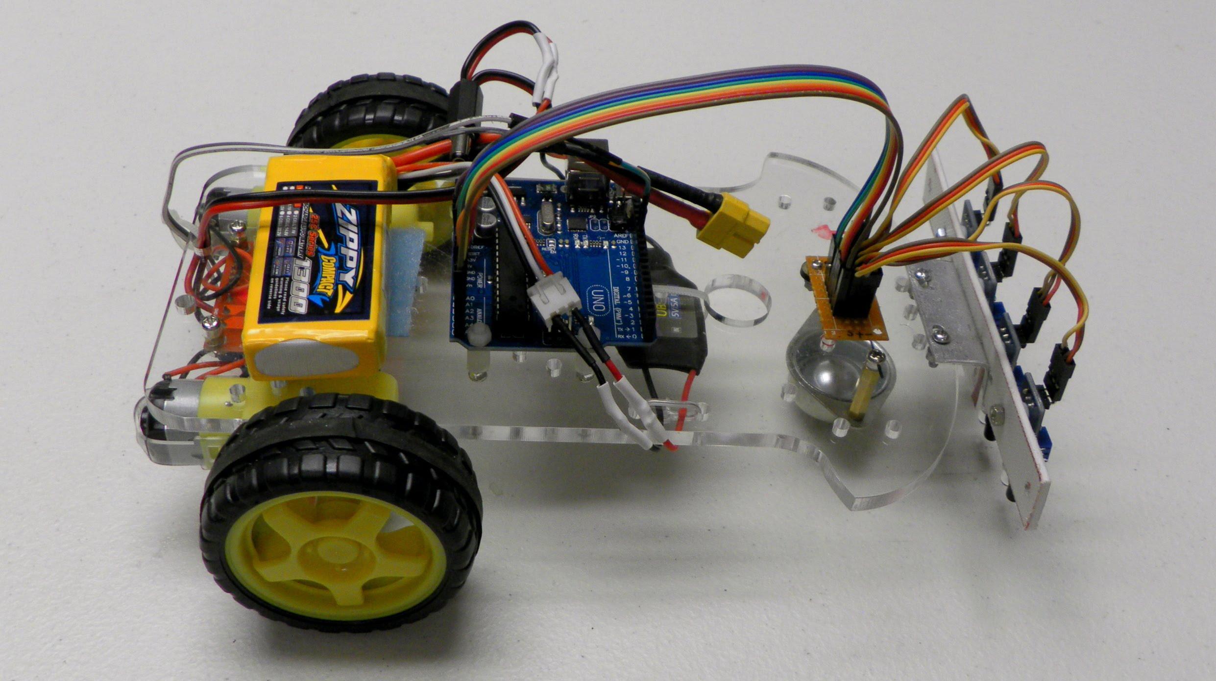 Reference – Arduino Line Follower Robot – LITTLE AIRPORT